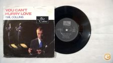 """PHIL COLLINS Can´t Hurry Love  7""""Single"""
