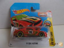 2016 Hot Wheels  198. `07 Ford Mustang