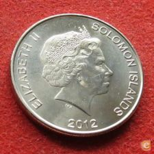 Salomão Solomon 50 cents 2012 UNC   *V