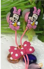 Auscultadores headphones Disney Minnie auscultadores phones
