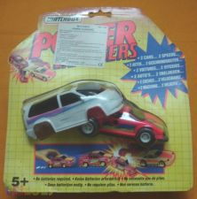 RARO BRINQUEDO POWER CHANGERS DA MATCHBOX
