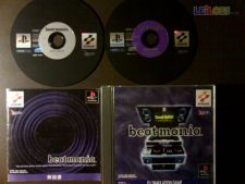 BEATMANIA BEAT MANIA PS1 JAP COMPLETO
