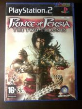PRINCE OF PERSIA THE TWO THRONES PS2 COMPLETO