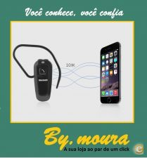 Bluetooth Headset para Samsung Galaxy S4 S5 S5