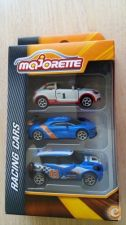 MAJORETTE RACING - PACK DE 3   AUDI - RENAULT - MINI WRC