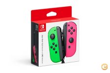 NINTENDO SWITCH JOY CONS SPLATOON 2 OFICIAL NOVO E SELADO