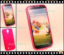 Capa case cover gel silicone Galaxy S4 GT-i9500 9505 Rosa