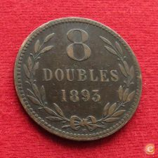 Guernsey 8 doubles 1893 w