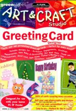 Art & Craft Studio Greeting Card Designer NOVO SELADO PC
