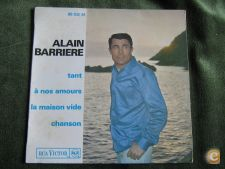 "Alain Barrière-Tant-Single 7"" 45 RPM"