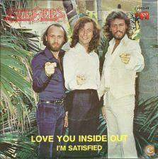 Single BEE GEES - Love you inside out