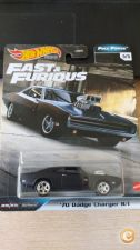 HOT WHEELS - ´70 DODGE CHARGER R/T  FAST FURIOU  REAL RIDERS