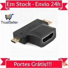 LU110 Adaptador Switch Splitter Divisor Micro - Mini - HDMI