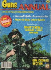 Guns Annual 1984 - Vol. 27