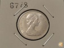 MEST - CANADÁ - 25 CENTS - 1975 ELIZABETH II