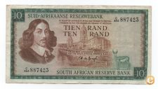 AFRICA DO SUL SOUTH AFRICA 10 RAND 1984 PICK 114 C VER SCANS