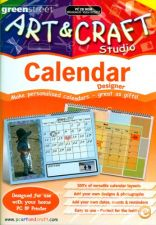 Art & Craft Studio Calendar Designer NOVO SELADO PC