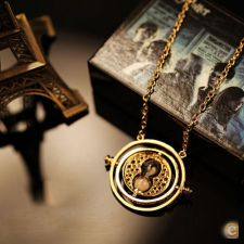 Fio  HARRY POTTER HERMOINE GRANGER TIME TURNER vira tempo