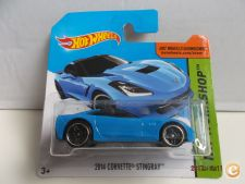 2014 Hot Wheels    207-2. 2014 Corvette Stingray