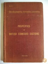 Properties of british standard sections (1904)