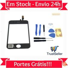 R426 Touch Screen Apple iPhone 3 Preto + Ferramentas stock