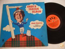 Andy Tartan Album - Andy Camerom Vinil LP
