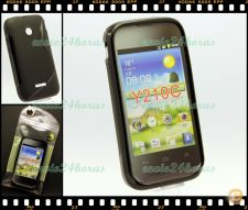 Capa case cover S-Line gel silicone Huawei Ascend Y210C Pret