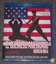 O REGRESSO DO NINJA AMERICANO (BLU-RAY) - Selado