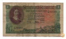 AFRICA DO SUL SOUTH AFRICA 5 POUNDS 1959 PICK 97 B VER SCANS