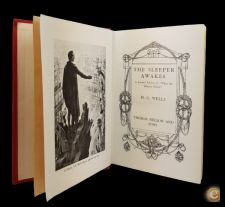 H.G. WELLS The Sleeper Awakes 1910? Thomas Nelson and Sons