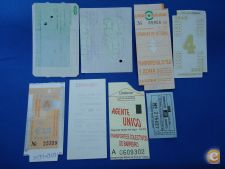 PORTUGAL LOT A 8 BILHETES DIVERSOS VER SCANS