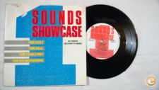 """SOUNDS SHOWCASE- 1-  7""""Single The Cult The Fall Go Betweens"""