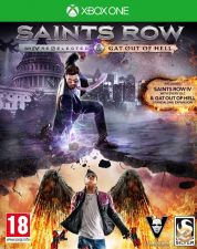 XBOX ONE - Saints Row IV Re-elected & Gat Out of Hell - NOVO
