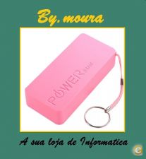 Power bank bateria externa 5600 mAh para smartphones iphone