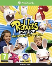 XBOX ONE - Rabbids Invasion: The Interactive TV Show - NOVO