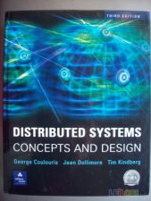 Distributed Systems, concept and design - Coulouris,Dollimor