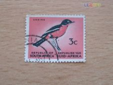 AFRICA DO SUL - SCOTT 259 - AVES
