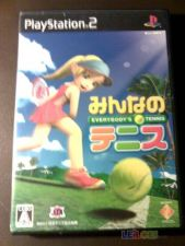 EVERYBODYS TENNIS PS2 jp COMPLETO