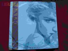 "MADONNA ""TRUE BLUE"" SINGLE 7"" 45 RPM"