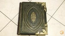 Holy Bible/ Fechos De Bronze 1853 Robert Baker Bougthon
