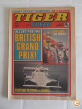 Tiger and Speed - 18 July 1981