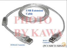 USB 2.0 A Male to Female EXTENSION CABLE 1.8m Extender