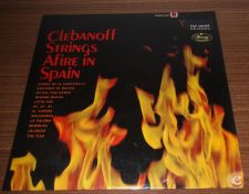 Clebanoff Strings Afire in Spain (LP)