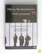 RICK WAKEMAN-THE LEGEND_LIVE IN CONCERT 2000