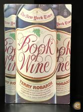 The New York Times Book of Wine by Terry Robards