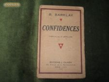 Confidences-B.Barklai-1931