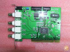 Placa CCTV / 4 Canais 25fps PCI