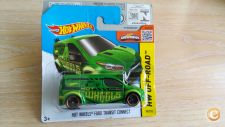 2015 HOT WHEELS - FORD TRANSIT CONNECT   VERDE  1/64  *NOVO*