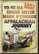 YO-YO MA Appalachian Journey DVD Mark O'CONNOR Edgar MEYER