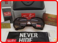 STOCK - Novos Oculos Sol RayBan Jackie Ohh RB4098 - Tortoise